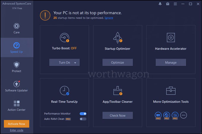 Advanced SystemCare 14 PRO Speed Up
