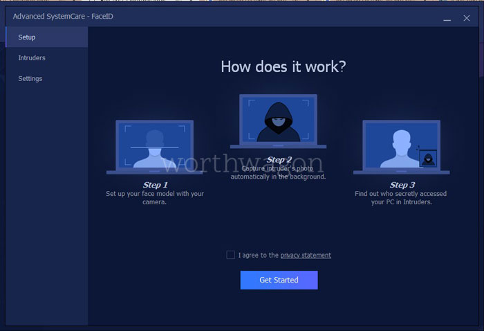Advanced SystemCare Pro FaceID