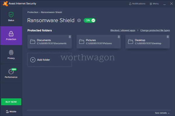 Avast Internet Security Ransomware