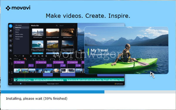 Movavi Video Editor Plus 2020 Review Installation 2