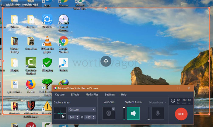 Movavi Video Suite 18 - Screen Recorder