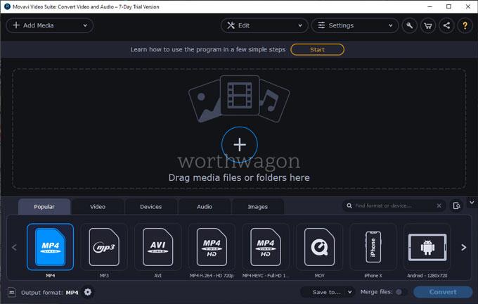 Movavi Video Suite 2021 Converter
