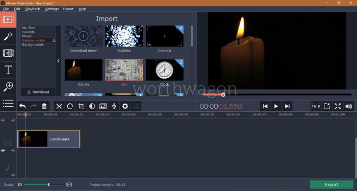 Movavi Video Suite - Video Editor