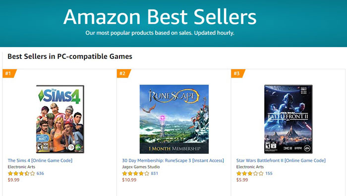 Amazon Games - Save Money on PC Games