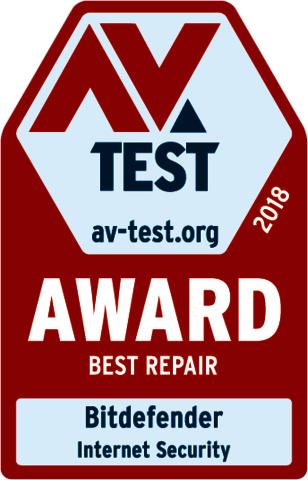 Bitdefender AV-Test Award