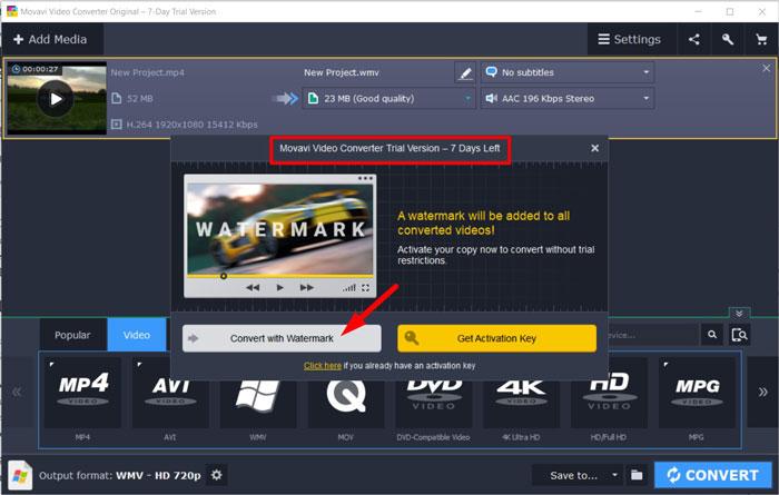 Movavi Video Converter Free