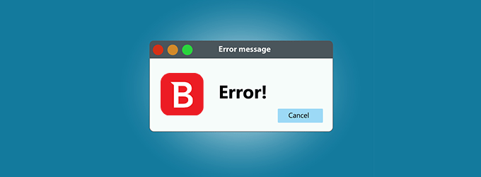 bitdefender error