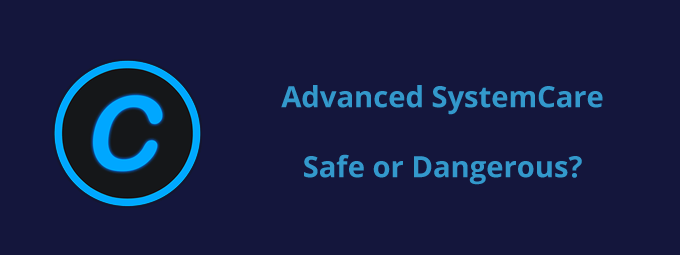Advanced SystemCare safe