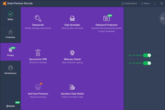 Avast Premium Privacy