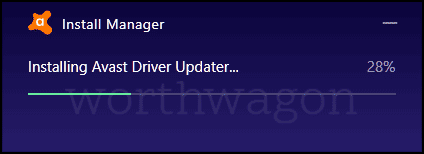 Installing Avast Driver Updater